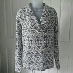 Lucky Brand Aztec Active Jacket size XL